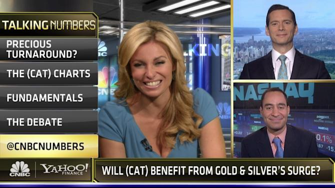 Trader: Buy this stock on higher gold