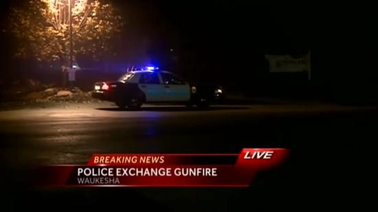 Domestic incident ends in shootout with police in Waukesha