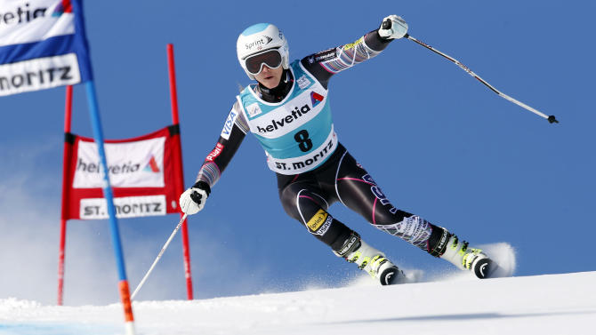 Wierather wins women's GS; Mancuso doesn't finish