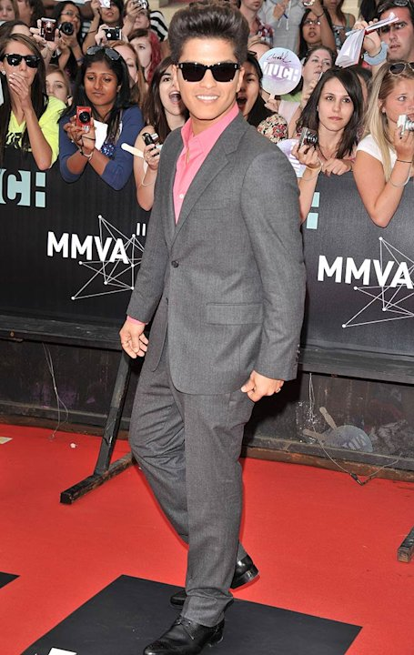 Bruno Mars Much Music Awards