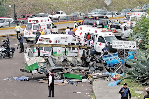 MÉXICO, D.F. Accident/ Accident-DF