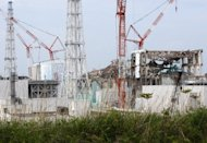 File picture shows work at the Fukushima nuclear power plant in May 2012. A subcontractor at Japan's crippled Fukushima nuclear plant told workers to lie about possible high radiation exposure in an apparent effort to keep its contract, reports said Saturday