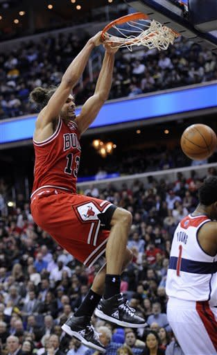 Rose scores 35 to lead Bulls over Wizards 98-88