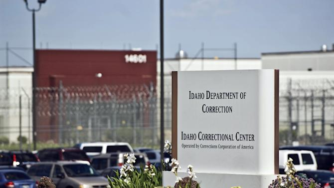 """FILE - This June 15, 2010, file photo, shows the Idaho Correctional Center south of Boise, Idaho. The FBI has launched a criminal investigation into private prison company Corrections Corporation of America, which ran what Idaho inmates called """"Gladiator School"""" because of a violent reputation they say understaffing helped create. The Nashville, Tenn.-based CCA has operated Idaho's largest prison for more than a decade, but last year, CCA officials acknowledged it had understaffed the Idaho Correctional Center by thousands of hours in violation of the state contract. (AP Photo/Charlie Litchfield, File)"""