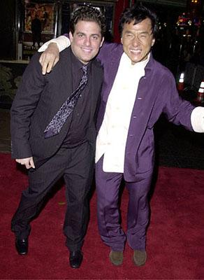 Premiere: Brett Ratner and Jackie Chan at the Hollywood premiere of Universal's The Family Man - 12/12/2000