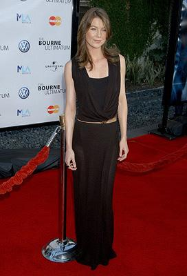 Ellen Pompeo at the Hollywood premiere of Universal Pictures' The Bourne Ultimatum