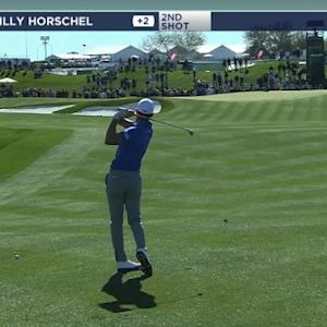 Billy Horschel birdies No. 2 at Waste Management