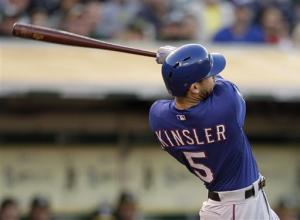 Rangers rebound from rout to beat A's 6-3