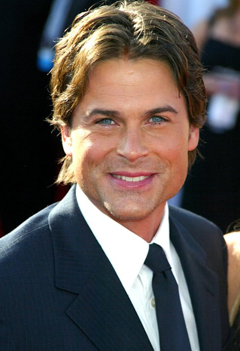 Rob Lowe at The 55th Annual Primetime Emmy Awards.