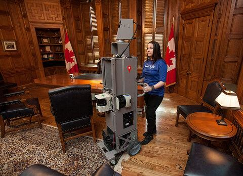 Looks like the Google Street View team mapped my office while I was in a meeting http://ow.ly/jTTn1  @googlecanada