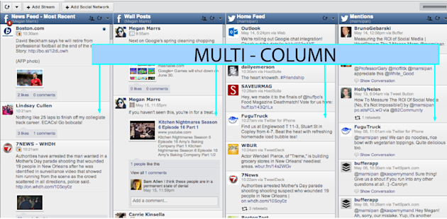 Social Media Management Tools: What's The Right Tool For Your Business? image multi column hootsuite design