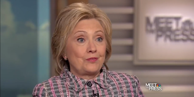 hillary clinton constantly hammered home a new message