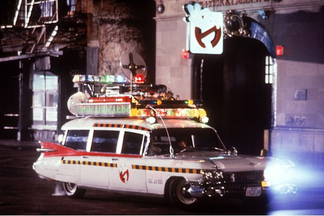 Ghostbuster Production photos Columbia Pictures