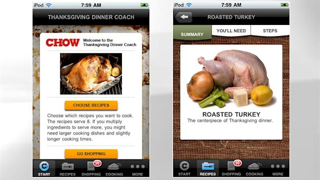 5 Thanksgiving Apps That Do the Work for You…Almost (ABC News)