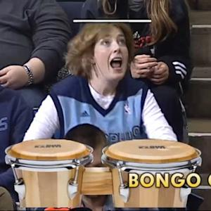 'Bongo Lady' an Unexpected Star at Memphis Grizzlies Games