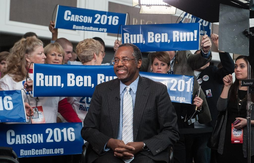 Surgeon Carson seeks Republican presidential nod