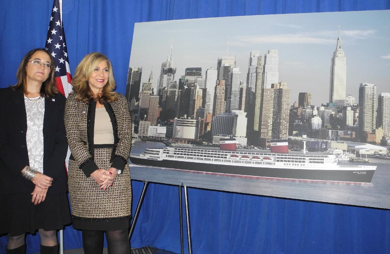 Plan aims to revive historic US ocean liner
