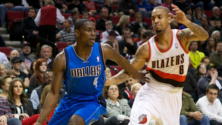 NBA: Dallas Mavericks at Portland Trail Blazers
