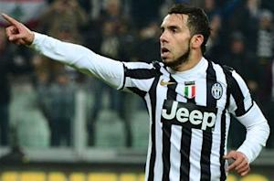 Tevez: I want to win the Scudetto as top scorer