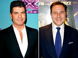 "Simon Cowell Is ""Doing a Baby With a Lady,"" Teases Pal David Walliams"