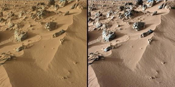 Mars Dirt Similar to Hawaiian Volcanic Soil