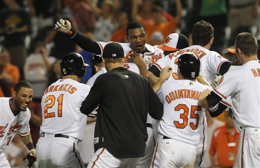Jones, Orioles beat Mariners 8-7 in 14 innings
