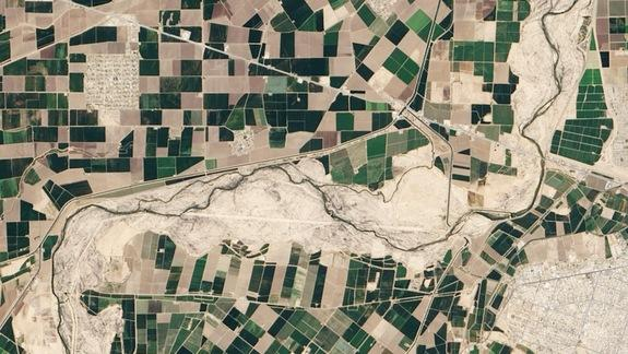 Colorado River's New Flow Seen by Satellite (Photo)