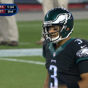 Philadelphia Eagles Sanchez: 'I love where I'm at'