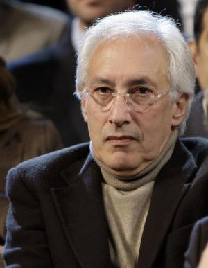 "FILE - Producer Steven Bochco listens to the Democratic debate between presidential hopefuls Sen. Hillary Rodham Clinton, D-N.Y., and Barack Obama, D-Ill., in Los Angeles in this Thursday, Jan. 31, 2008 file photo. The groundbreaking creative mind behind ""NYPD Blue,"" ''L.A. Law"" and ""Hill Street Blues"" said Friday Jan. 10, 2013 that he doesn't have the creative drive he used to have. (AP Photo/Kevork Djansezian, File)"