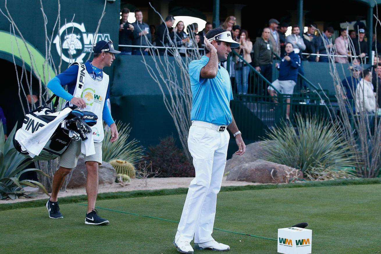 Phoenix Open fans boo and heckle Bubba Watson off the green