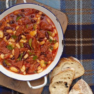 Chorizo Bean Stew: Recipes