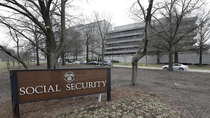"The Social Security Administration's main campus is seen in Woodlawn, Md., Friday, Jan. 11, 2013. The federal agency issued an official reprimand to an employee after months of flatulence problems, but the agency says it has since retracted the rebuke. A four-page reprimand letter dated Dec. 10 charges the employee with ""conduct unbecoming a federal employee"" and ""creating a hostile work environment"" because of the repeated gas passing. (AP Photo/Patrick Semansky)"