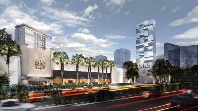 SLS Las Vegas Hotel to Open on Labor Day