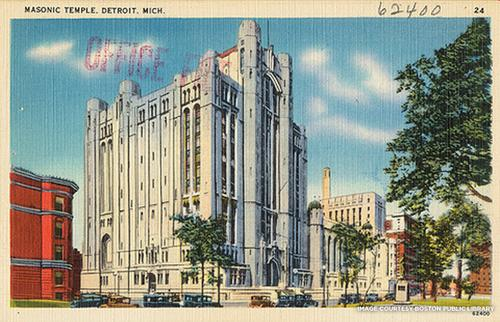 Detroit Icons: Iconic Detroit Building of the Week: Masonic Temple