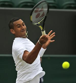 Kyrgios saves 9 match points to beat Gasquet