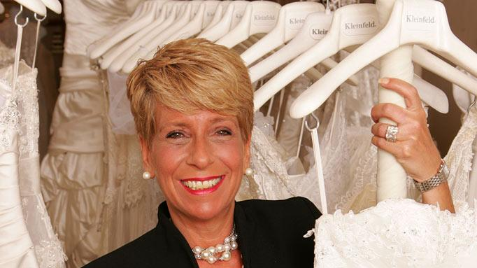 "Audrey, a bridal consultant at Kleinfeld Bridal, on ""Say Yes to the Dress."""