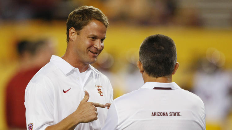 USC fires Lane Kiffin; Orgeron is interim coach