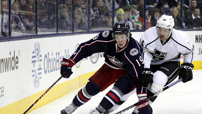 Umberger's 2 goals lift CBJ past Kings, 5-3