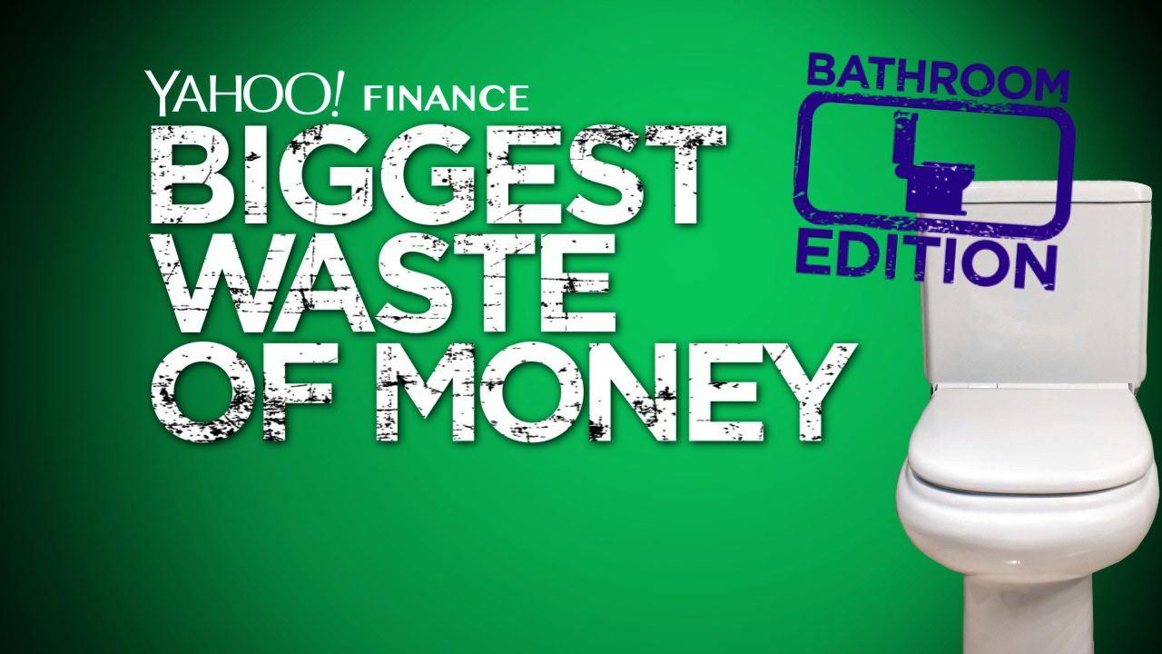 4 ways we're flushing money down the drain - in the bathroom