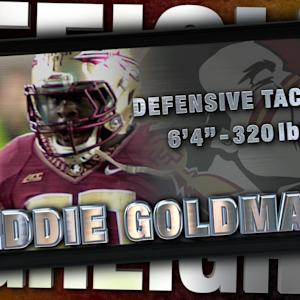 2014 Official Highlights | FSU DT Eddie Goldman