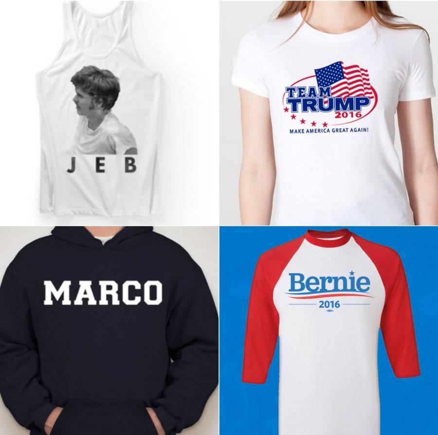 This 2016 Presidential Candidate's Campaign Merchandise Is Surprisingly Trendy