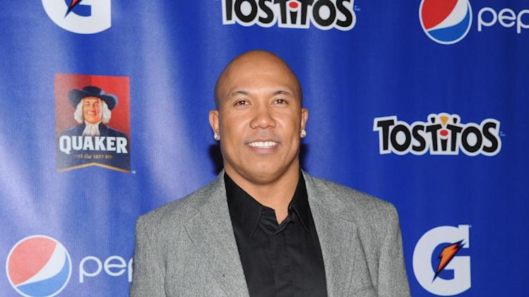 Former NFL player Hines Ward attends at the PepsiCo Pre-Super Bowl Party, at Masquerade Night Club, on Friday, Feb. 1, 2013 in New Orleans. (Photo by Evan Agostini/Invision for PepsiCo/AP Images)