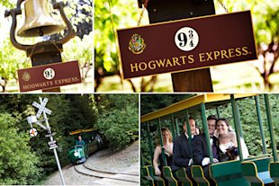 bridal guide magazine harry potter hogwarts express