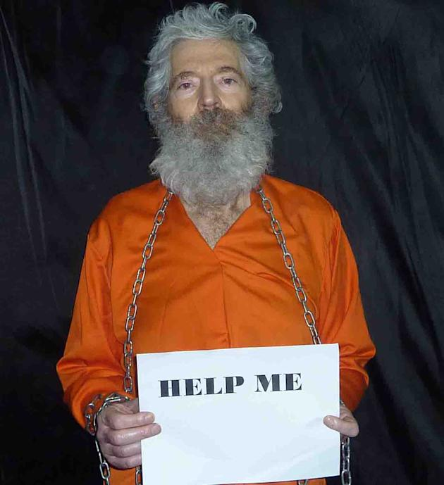 This undated handout photo provided by the family of Robert Levinson, shows retired-FBI agent Robert Levinson. Levinson, 64, went missing on the Iranian island of Kish in March 2007. Levinson's family