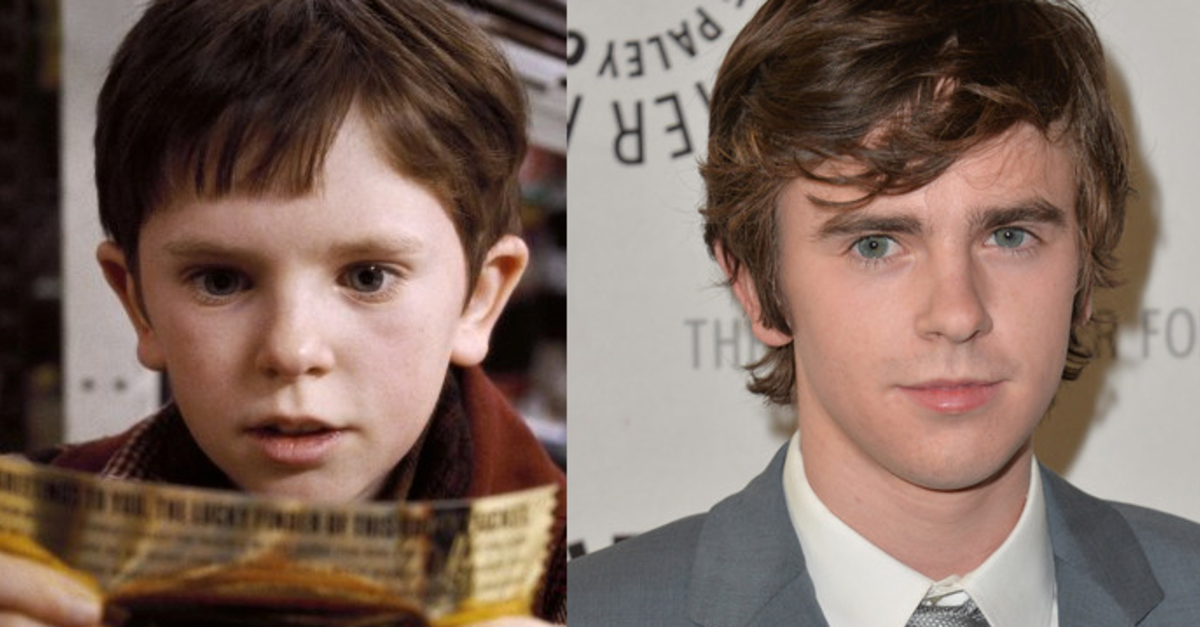 """Charlie and the Chocolate Factory"": Then and Now"