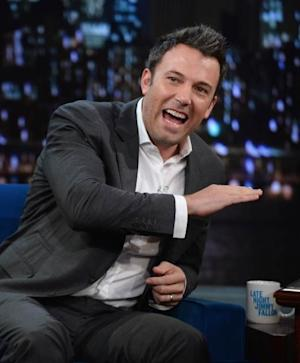Ben Affleck visits 'Late Night with Jimmy Fallon' at Rockefeller Center on September 16, 2013 in New York City -- Getty Images