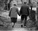 Walking is a good exercise for elderly