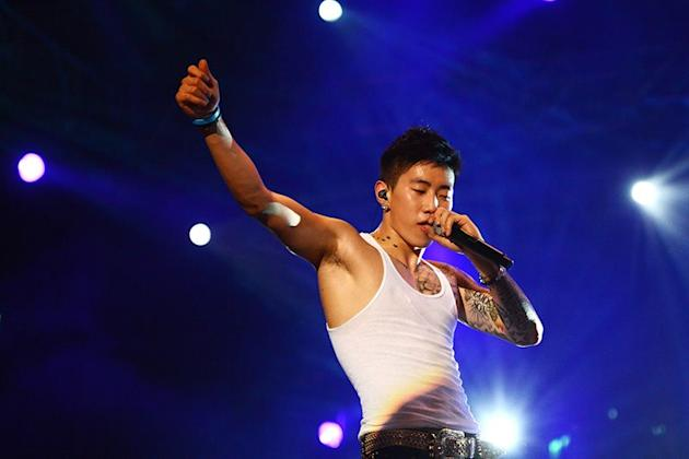 Jay Park at MTV World Stage Live in Malaysia 2012