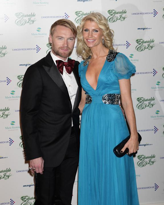 Celebrity splits 2012: We were sad when Ronan Keating and his wife Yvonne ended their marriage after 14 years together. Ronan had an affair back in 2010 and the pair had worked hard to make their marr