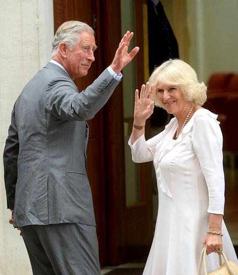 "Prince Charles, Camilla Visit Grandson: Royal Prince Is ""Marvelous"""